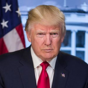 President Donald J Trump official White House image