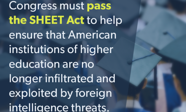 The SHEET Act; We Must Defeat the Threats to Higher Education