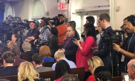 Reporters turn White House press briefings into performances. That's why I quit.
