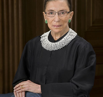 Justice Ginsburg hospitalized,  fractures 3 ribs in fall