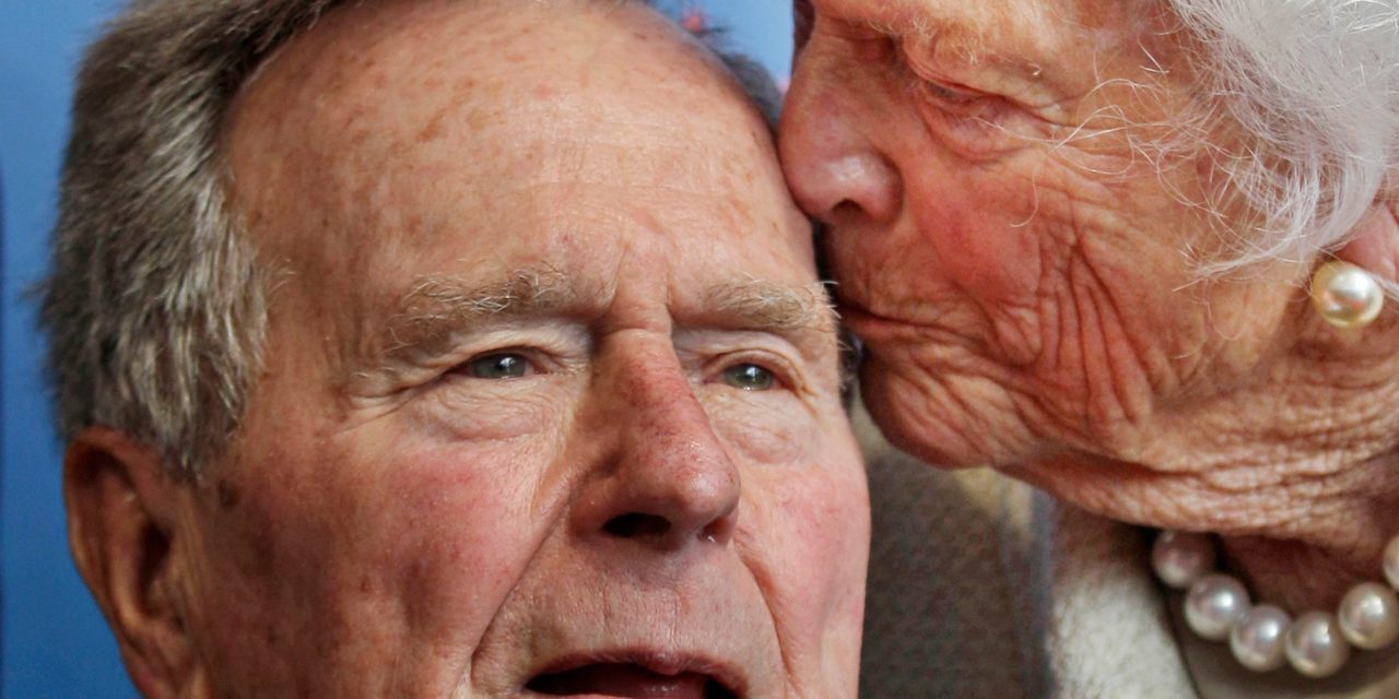 Bush 41: A reminder the treatment of one side hasn't much changed