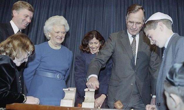 Bush 41, saving thousands of Ethiopian and Syrian Jews, the rarely told story
