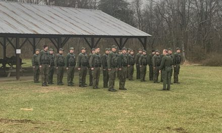 State Game Warden Cadets finish 10 week field assignment
