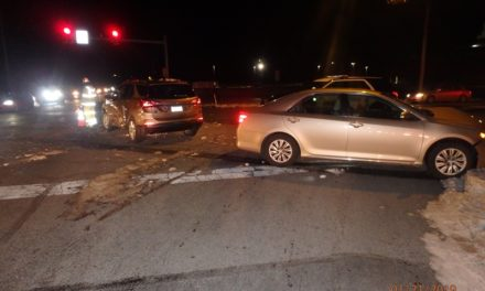 Accident last night in Upper Allen Township