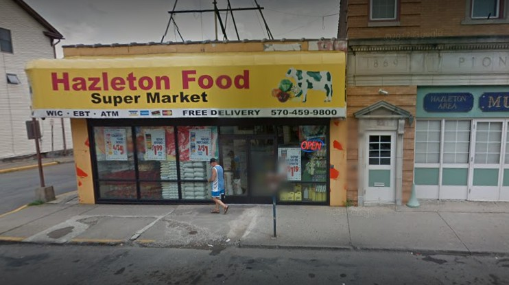 Hazleton Food Supermarket out of compliance in food inspection- Old dried meat residue