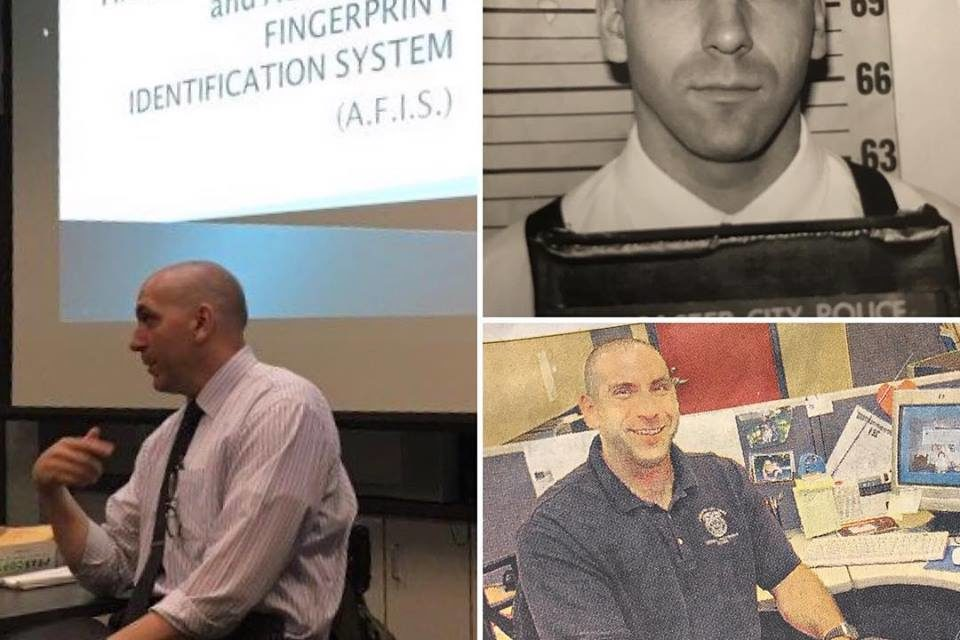 Lancaster Police honor Detective Dave Weiser