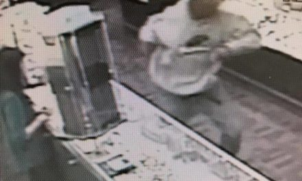 Can you help Dickson City Police identify man who ran off with jewelry at Littman Jewelers