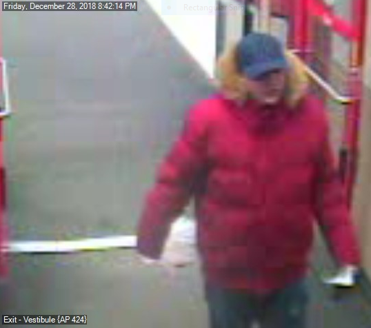 "Dickson City Police looking for ""Puffy Coat Bandit"""