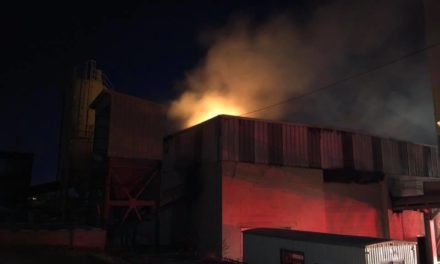 UPDATE: Fire out- York Fire Crews working fire at quarry