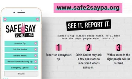 "Pennsylvania launches ""Safe to Say"" youth violence prevention program"
