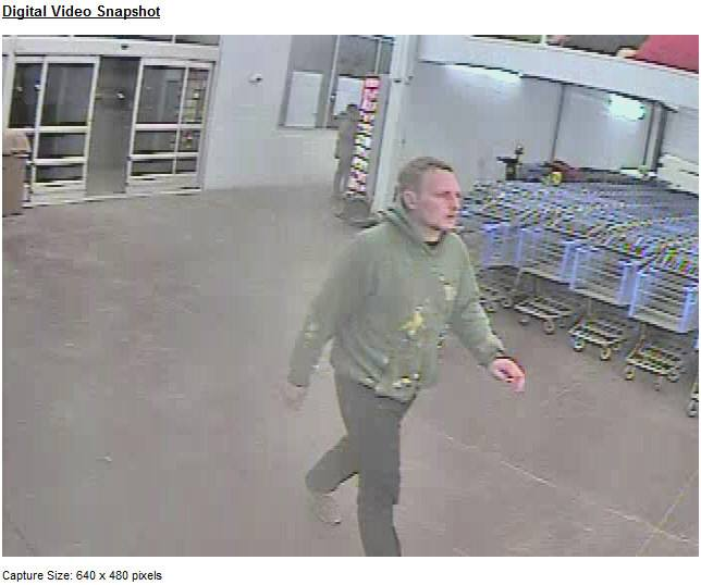 West Manheim Township Police asking to help identifying smash and grab thief at Walmart