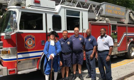 York County marks founder of the fire department's 313th birthday