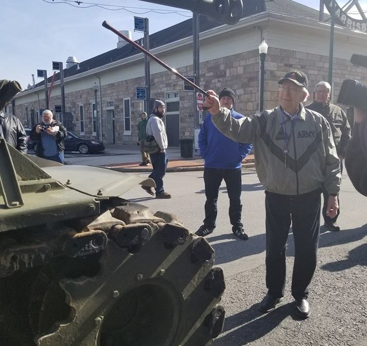 "Video: World War 2 Veteran honored with Harrisburg's ""Key to the City"""