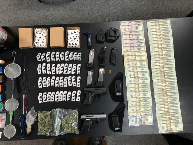 Ashley man arrested in Hanover Township for drug trafficking, bond $200,000- 10th criminal case