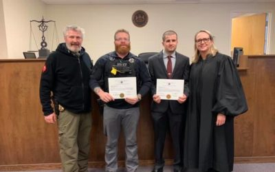 Officers to corporal promoted Monday in West York Borough