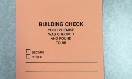 West York Police clarify door hangers left from business building checks