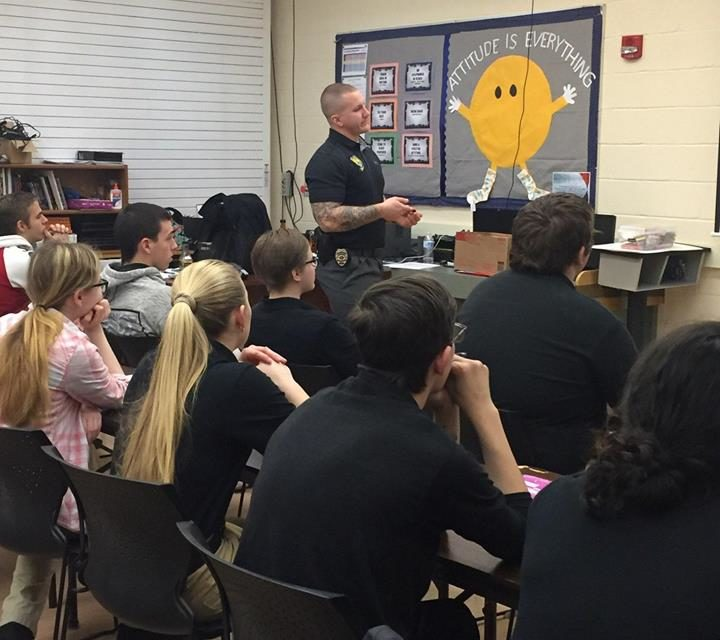 Williamsport students learn about controlled substances