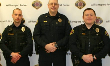 Williamsport promotes three officers in restructuring