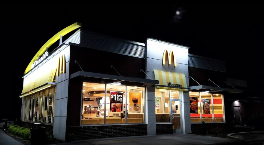 Dillsburg McDonald's in York County, fails state food safety inspection- egg residue that appeared to be thrown against the wall