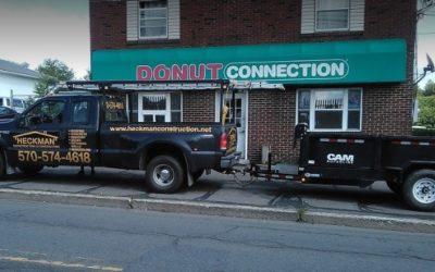 Donut Connection in Hazelton flop inspection, 20-25 old rodent droppings observed