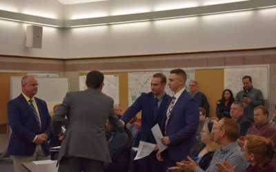East Lampeter Township swears in new officers, honors other officers