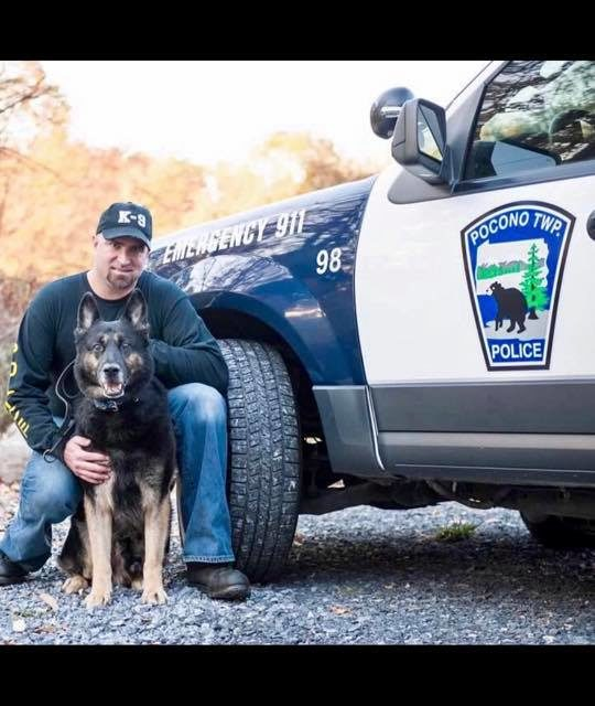 Pocono Township Police announce passing of K9 Officer Falko