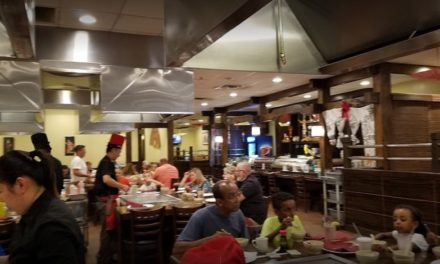 Bloomsburg's Oliran Hibachi Steakhouse fails state inspection, Mouse droppings, too numerous to count, observed at floor-wall juncture under storage table