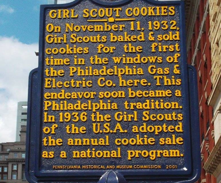 Girl Scout Cookies started in Pennsylvania and, no, they do not fund Planned Parenthood