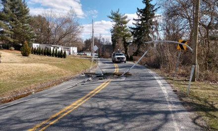 Eastern York Emergency Management- poles down, avoid Frysville RD area