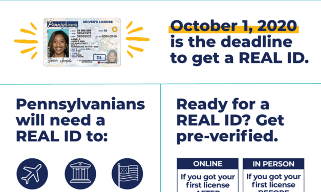 Real ID now available in Pennsylvania