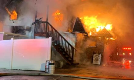 Fire at Serafina's Restaurant in Dunmore, total loss