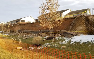 Retaining wall collapse forces evacuations in York County