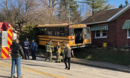 School Bus accident in York City this morning, 8 sent to hospital