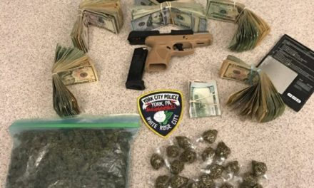 York drug bust nets $19,154, a gun and Marijuana