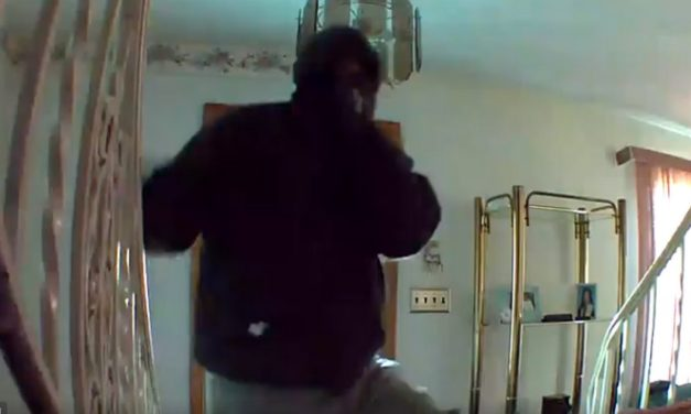Video: Dunmore Police ask for help to identify burglar caught on home surveillance