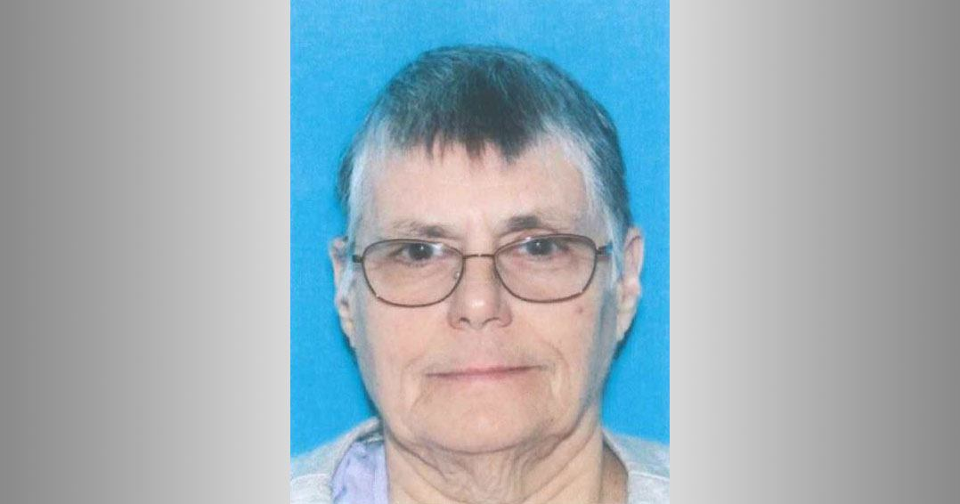 UPDATE FOUND SAFE: Pennsylvania State Police issue Missing Endangered Person's alert for 77 year old Elk County woman