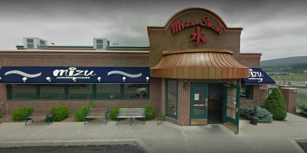 Wilkes-Barre's Mizu Sushi Hibachi Japanese Restaurant fails state food safety inspection for third year in a row, 15 violations in most recent visit by state, dead insects under rice storage