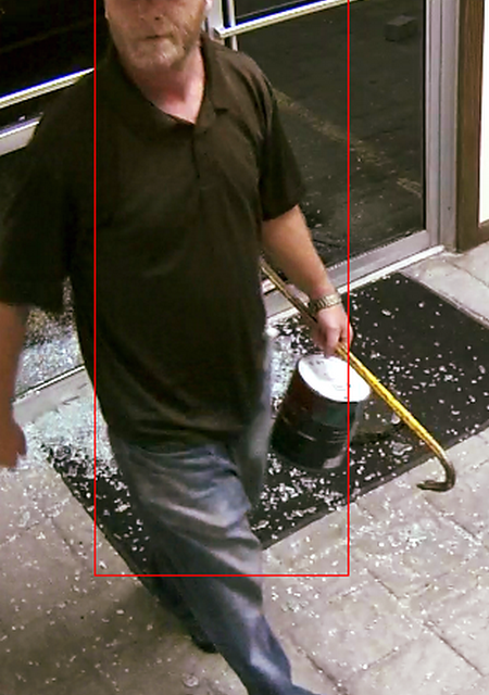 Wilkes-Barre Police hoping to identify person of interest in Planned Parenthood vandalism
