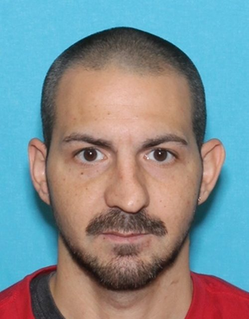 Richard Lombardo wanted by Blakely Police for domestic violence incident