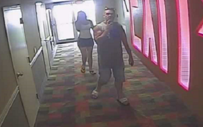 Lower Paxton Police hope to identify hotel vending machine theft suspects