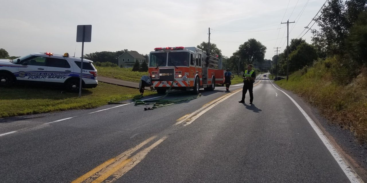 Upper Allen Township Fire responds to head on crash with entrapment