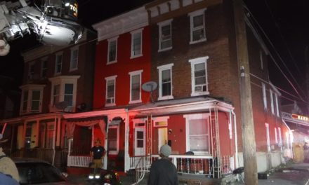 Sunday night fire in Harrisburg in Allison Hill section