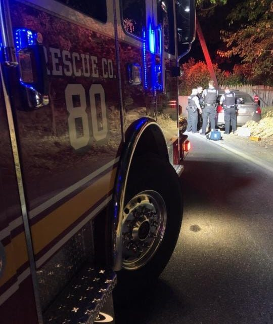 Columbia Borough Fire Volunteers respond to two accidents overnight