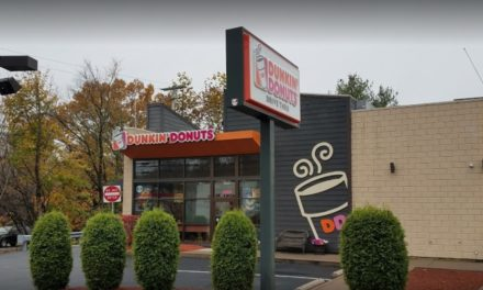 Dunkin Donuts in Tannersville picks up 11 violations in food safety inspection, Ice machine cuber head and separation tray with black mold like substance
