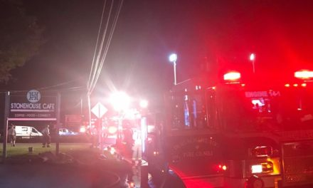 Durlach/Mt. Airy Fire Company responds to building fire Wednesday night