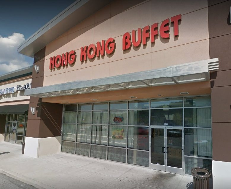 One live and three dead roach-like insects under the cook line, Hong Kong Buffet on Newberry PKWY in Etters fails retail food inspection