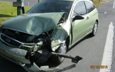 2 vehicle accident in Carlisle, no injuries