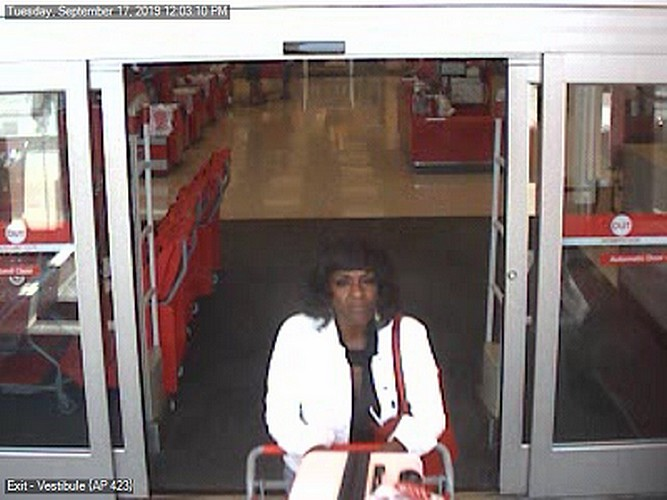 Lower Paxton Police looking for woman they say used a stolen credit card at Target netting more than $900