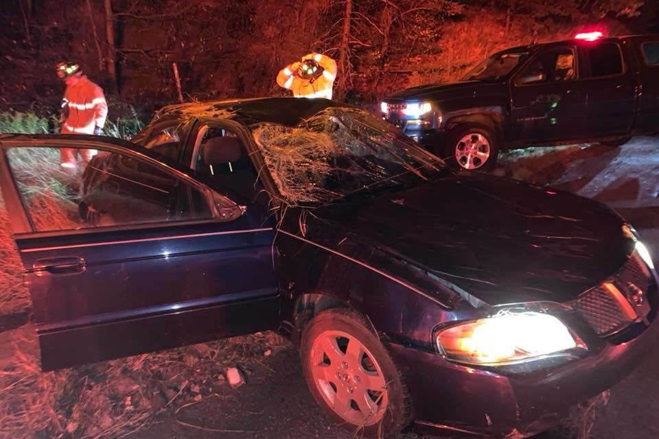 McAdoo Fire Company responds to rollover
