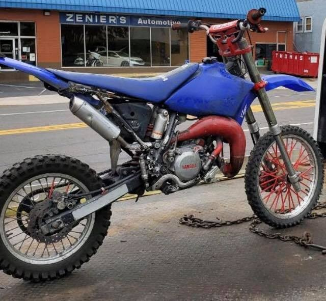Hazleton Police seize motorcycle they say annoying residents, driver flees police